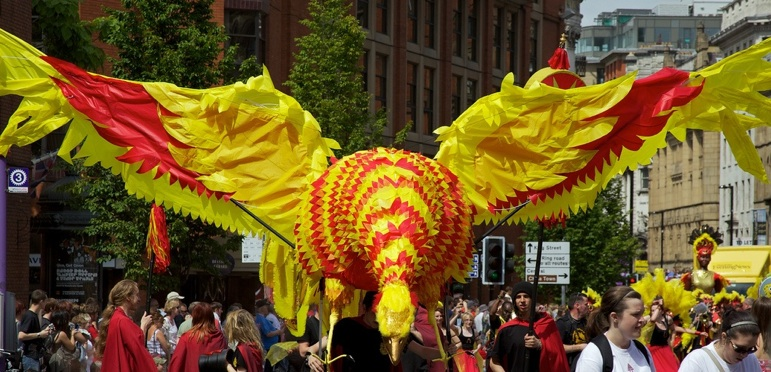 Manchester Day Parade Phoenix 2010 Photo